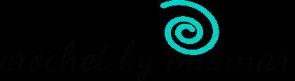 crochet by milunar logo