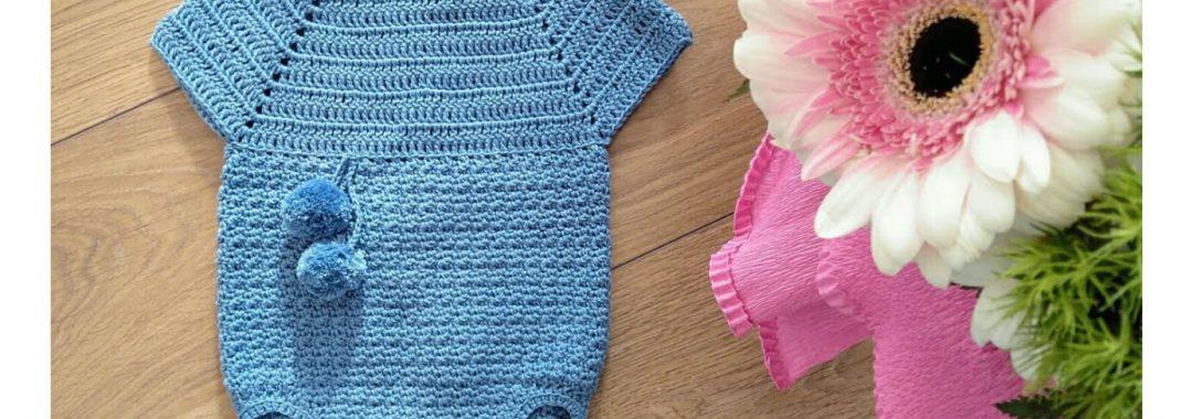 Pelele de crochet